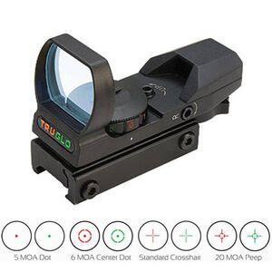 TRUGLO 34mm Sight Dual Color Multi Reticle Red/Green Matte Black TG8360B