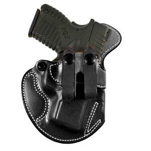 DeSantis Gunhide Cozy Partner Springfield XDS .45 IWB Holster Right Hand Leather Black 028BAY1Z0