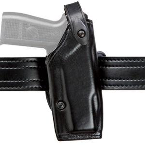 Safariland Model 6287 GLOCK 17/22 with M3 LED SLS Concealment Belt Slide Holster Right Hand Plain Black