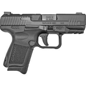 "Century Arms Canik TP9 Elite SC 9mm Luger Subcompact Semi Auto Handgun 3.6"" Barrel 12 Rounds Optics Ready Slide Polymer Frame Black Finish"