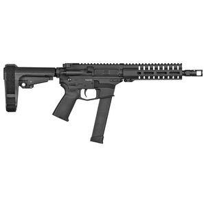 "CMMG Banshee 300 MK10 10mm Auto AR-15 Semi Auto Pistol 8"" Barrel 30 Rounds GLOCK Style Magazine RML7 Free Float M-LOK Hand Guard Cerakote Graphite Black"