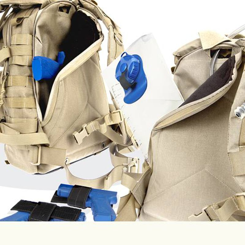 Maxpedition Condor-II Tactical Backpack Will Hold 100oz Hydration System Khaki