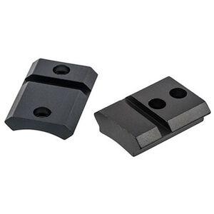 Leupold QRW 2-Piece Weaver/Cross Slot Style Scope Base Browning AB3 Machined Steel Matte Black