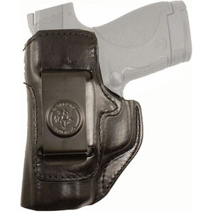 DeSantis Inside Heat SIG Sauer P365 IWB Holster Left Hand Leather Black