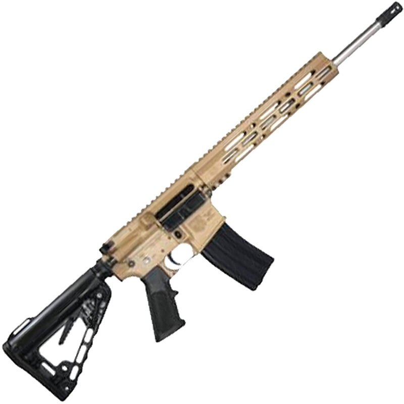 "Diamondback Firearms DB15 AR-15 Semi Auto Rifle 5.56 NATO 16"" Barrel 30 Rounds Collapsible Stock FDE"