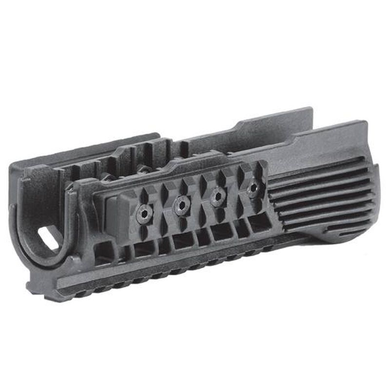 Command Arms Accessories AK-47 Lower Handguard with Rails Polymer Black  RS47B