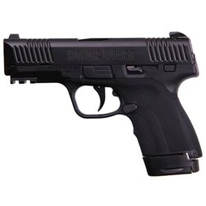 "Honor Defense Honor Guard Long Slide Semi Auto Pistol 9mm 3.8"" Barrel 7/8 Rounds No Safety Black"