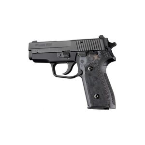 Hogue SIG P225-A1 Checkered Grip G10 G-Mascus Black/Grey 27127