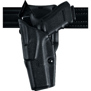 Safariland 6395 ALS Low-Ride Duty Belt Holster Fits GLOCK 19/23 with Light ALS Guard Hood Included Left Hand Hardshell STX Tactical Black