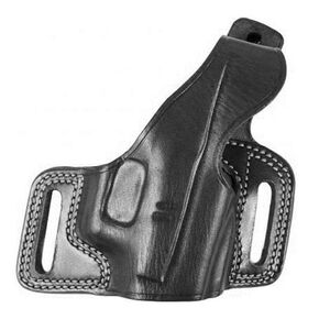 """Galco Silhouette Hide Ride Holster Sig P220/P226/P228/P229 Reinforced Thumb Break Right Hand 1.75"""" Belt Loops Premium Saddle Leather Black SIL248B"""