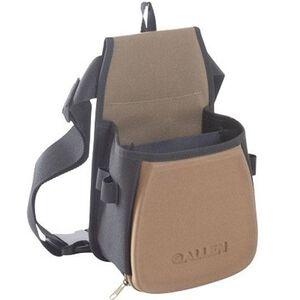Allen Eliminator Double Compartment Shooting Bag, Black/Tan