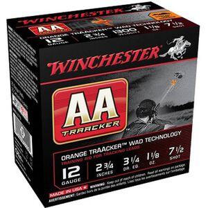 "Winchester AA TrAAcker 12 Ga 2.75"" #7.5 Lead  250 Rounds"