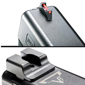 Taran Tactical Ultimate Fiber Optic Sights GLOCK Steel Housing Matte Black Finish
