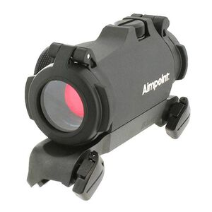 Aimpoint Micro H-2 Red Dot Sight 2 MOA Dot With Blaser Saddle Mount Black 200187
