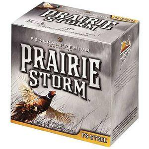 """Federal Prairie Storm 12 Ga 3"""" #4 FS Steel 1.125oz 250 rds"""