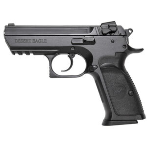 "Magnum Research Baby Desert Eagle III Semi-Compact Size Semi Auto Pistol .40 S&W 3.85"" Barrel 10 Rounds Combat 3 Dot Fixed Sights Steel Frame Matte Black Finish"
