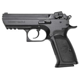 "Magnum Research Baby Desert Eagle III Semi-Compact Size Semi Auto Pistol .40 S&W 3.85"" Barrel 10 Rounds Combat 3 Dot Fixed Sights Steel Frame Matte Black Finish"