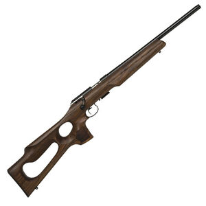 "Anschutz 1517 AV Bolt Action Rimfire Rifle .17 HMR 18"" Threaded Barrel 4 Rounds Two Stage Trigger Thumbhole Stock Blued Finish"