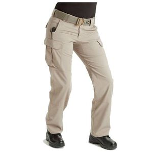 5.11 Tactical Women's Stryke Pants Flex-Tac Cotton/Poly Size 14 Long Khaki 64386