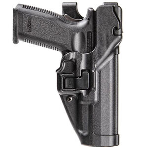 BLACKHAWK! SERPA S&W M&P .45 Level 3 Light Bearing Autolock Duty Holster Left Hand Polymer Black 44H145BK-L
