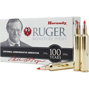 Hornady Signature Series .204 Ruger Ammunition 20 Rounds 32 Grain V-MAX Polymer Tipped 4225 fps