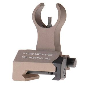 Troy Industries AR-15 HK Style Front Folding Battle Sight FDE SSIG-FBS-FHFT-00