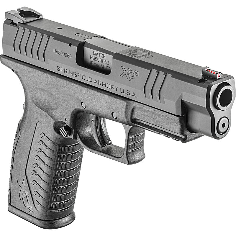 "Springfield XD(M) 10mm Semi Auto Pistol 4.5"" Barrel 15 Rounds Polymer Frame"