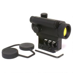 Black Spider Optics, M0129 Micro Red Dot Sight, 3 MOA, High Profile, Black