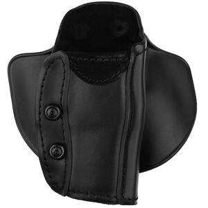 "Safariland Model 568 Custom Fit Paddle/Belt Loop Concealment Holster Fits 1911 Commander and Similar with 4-1/4"" Barrel Right Hand STX Plain Black"