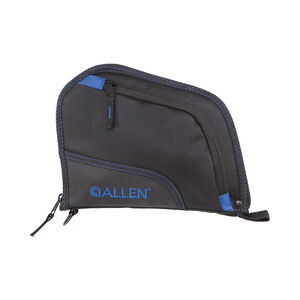 "Allen Auto-Fit Handgun Case 9"" Black/Blue"