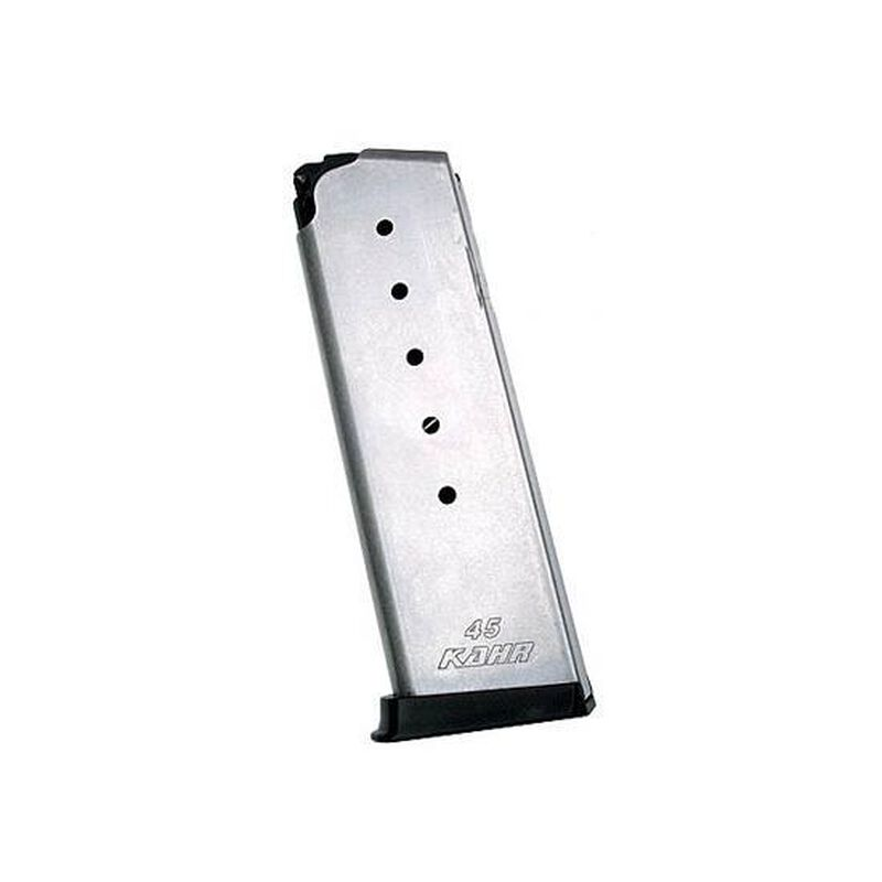 Kahr Arms PM/P/C/CW .45 ACP Magazine 6 Rounds Extended Steel Stainless K625