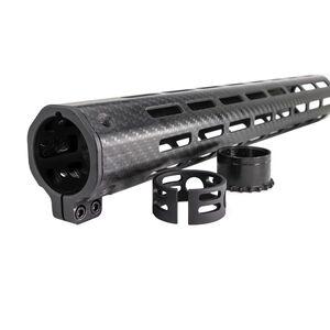 "Faxon STREAMLINE AR-15 13"" M-LOK Handguard Carbon Fiber FFHGMLOK15C1"
