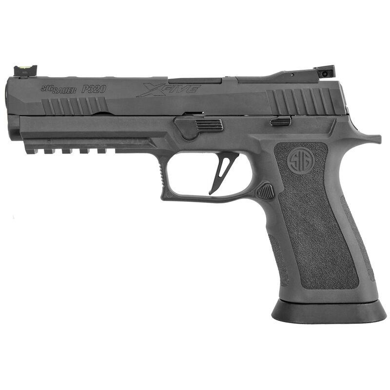 "Sig Sauer P320 X5 Legion 9mm Luger Semi Auto Pistol 5"" Barrel 17 Rounds Optics Ready Legion Gray"