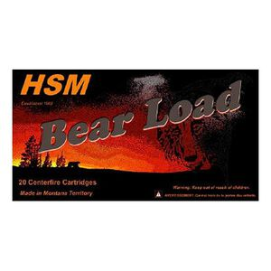 HSM Bear Load .500 S&W Magnum Ammunition 20 Rounds 440 Grain WFN