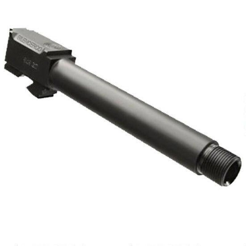 "SilencerCo Replacement Barrel Smith & Wesson M&P .45 ACP Fits 4.5"" Barrel Models Only Thread .578""x28 416R Steel Black Nitride Finish"