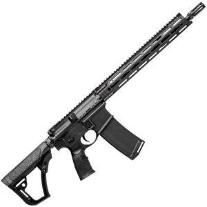 "Daniel Defense DDM4v7 SLW AR-15 Semi Auto Rifle 5.56 NATO 16"" Barrel 32 Rounds M-LOK Handguard Collapsible Stock Black"