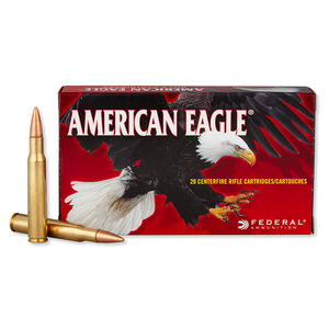 Federal American Eagle .30-06 Springfield Ammunition 20 Rounds FMJ 150 Grains AE3006N
