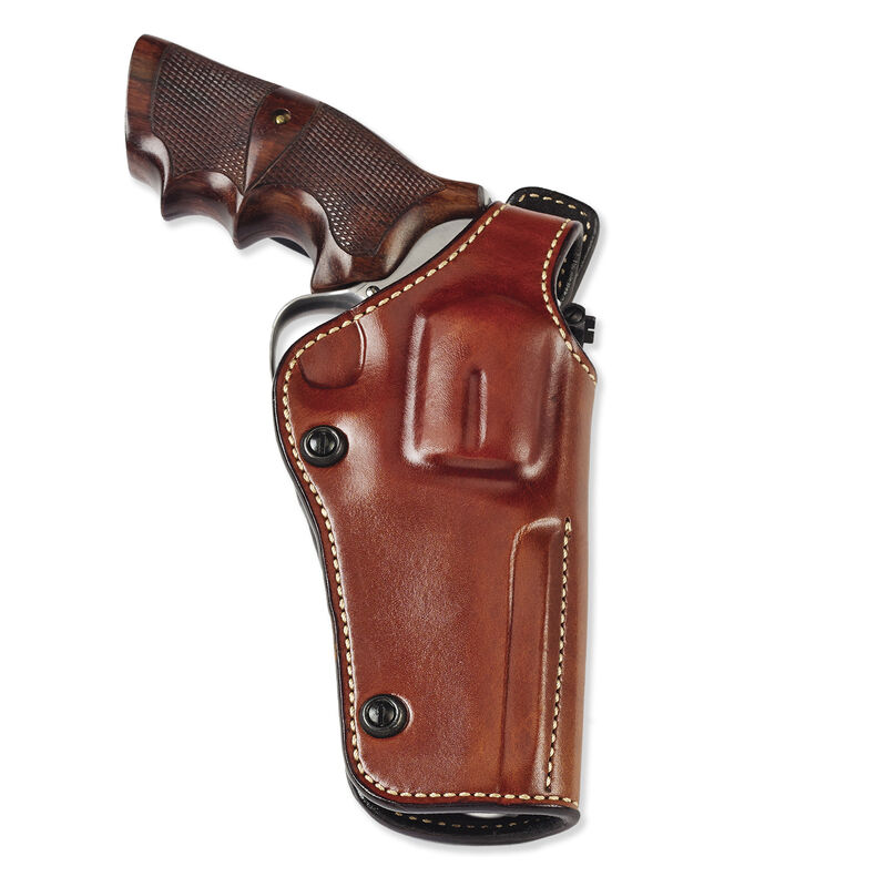 """Galco Phoenix Belt Holster Fits S&W 5"""" N-Frame Right Hand Leather Tan"""