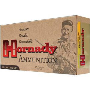 Hornady Custom .300 RUM Ammunition 20 Rounds 180 Grain GMX 3180 fps