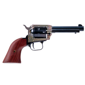 """Heritage Manufacturing Rough Rider .22 Long Rifle Single Action Revolver 4.75"""" Barrel 6 Rounds Fixed Sights Cocobolo Grips Alloy Frame Case Hardened Finish"""