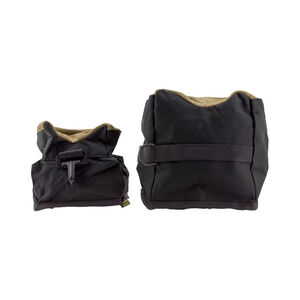 The Outdoor Connection Benchbag Set Front and Rear Bags Nylon/Synthetic Black/Synthetic Suede