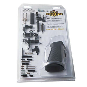 Luth-AR .308 AR Complete Lower Receiver Parts Kit Matte Black
