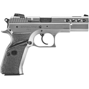 """SAR P8L 9mm Luger Semi Auto Pistol 4.6"""" Barrel 17 Rounds Stainless"""