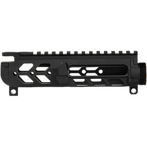 Iron City Rifle Works Berserker Lite AR-15/AR-9 Skeletonized Stripped Upper Receiver 5.56 NATO/9mm Luger Lightweight Precision Engineering Aluminum Black