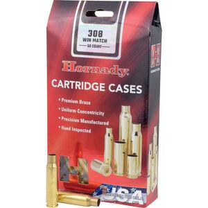 Hornady .308 Winchester 50 Unprimed Brass Cartridge Cases