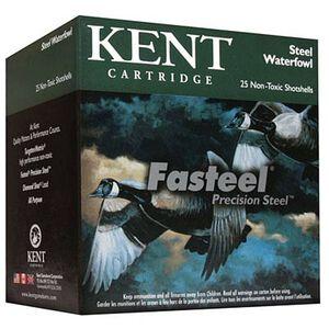 "Kent Cartridge Fasteel 12 Ga 3"" #1 Steel 1.25oz 250 Rounds"