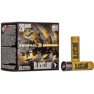 """Federal Black Cloud FS Steel 20 Gauge Ammunition 3"""" #1 1 Oz Steel Shot 1350 fps"""