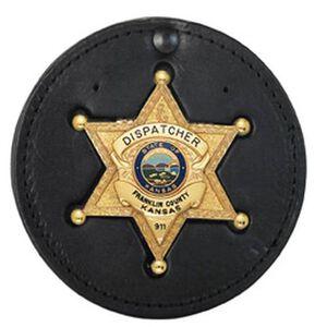 Recessed Circle Badge Holder
