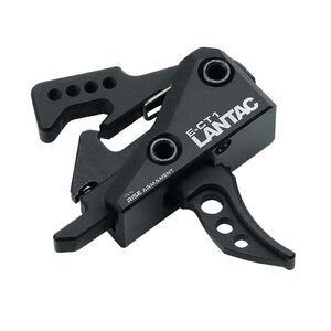 Lantac 3.5 lb. Single-Stage Curved Trigger E-CT1