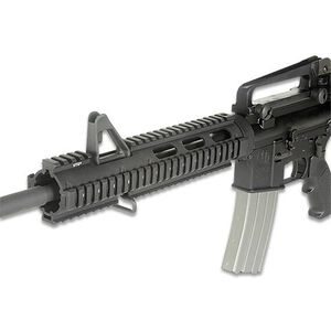 Leapers UTG PRO AR-15 Drop-In Quad Rail Extended Carbine Length Aluminum Black MTU015